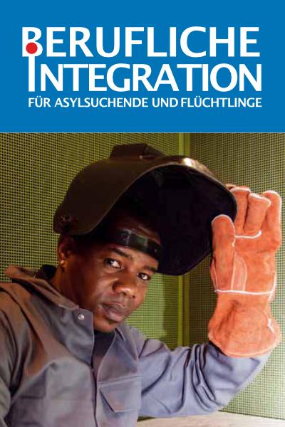 Flyer: Berufliche Integration für Asylsuchende und Flüchtlinge - Fluchtort Hamburg 5.0
