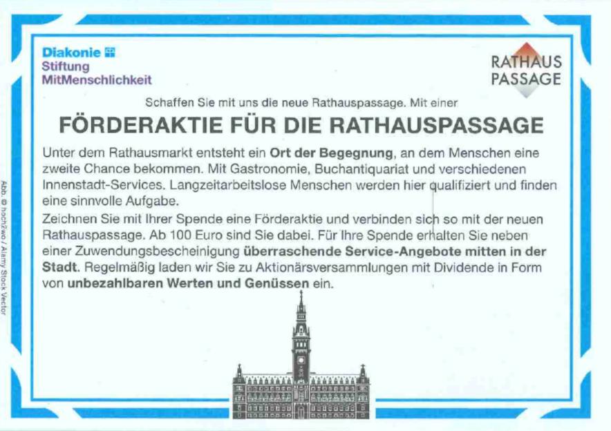 Foerderaktie Rathauspassage